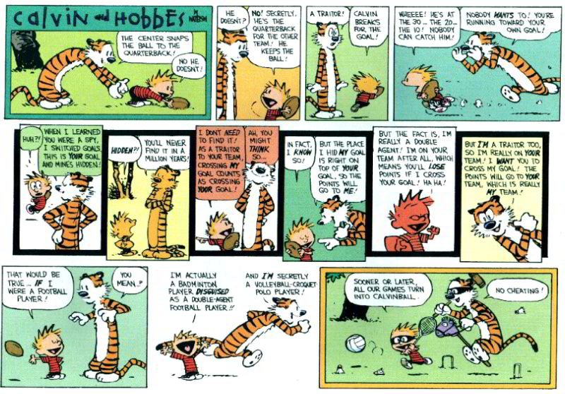 Calvin And Hobbes Comic Strip Porn - ... abandoned ...